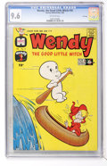 Silver Age (1956-1969):Cartoon Character, Wendy, the Good Little Witch #10 File Copy (Harvey, 1962) CGC NM+ 9.6 Off-white pages....