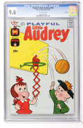 Bronze Age (1970-1979):Cartoon Character, Playful Little Audrey #89 File Copy (Harvey, 1970) CGC NM+ 9.6Off-white pages....