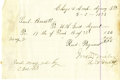 Western Expansion:Cowboy, 1873 Autograph Document for Procurement of Beef for the Cheyenneand Arapaho Agency....