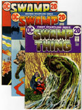 Bronze Age (1970-1979):Horror, Swamp Thing Group (DC, 1972-85) Condition: Average FN+.... (Total:42 Comic Books)