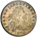 Early Dimes, 1804 10C 14 Stars on Reverse--Scratched--ANACS. AU Details, NetXF40....