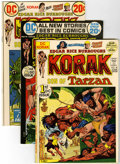 Bronze Age (1970-1979):Miscellaneous, Korak, Son of Tarzan #46-56 Group (DC, 1972-75) Condition: AverageVF/NM.... (Total: 11 Comic Books)