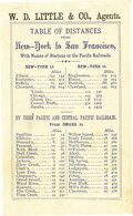 Transportation:Railroad, Union Pacific Time Table 1869. ...