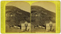 Western Expansion:Goldrush, Large Size Stereoview of Central City, Dakota Territory ca 1870s -...