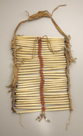 American Indian Art, A PLAINS MAN'S BREASTPLATE. c. 1930...