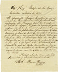 Autographs:Non-American, News from Galveston - Marcos Flores Autograph Letter Signed,...
