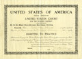 Miscellaneous:Ephemera, United States of America Indian Territory, Woman Admitted toPractice 1907....