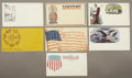 Military & Patriotic:Civil War, Large Lot of Civil War Patriotic Covers.... (Total: 50 Items)