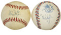 Autographs:Baseballs, Mark McGwire Single Signed Baseballs Lot of 2. From one of themost-celebrated sluggers of the past two decades we present ...
