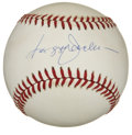 Autographs:Baseballs, Reggie Jackson Single Signed Baseball. It seems that every Falltalk seems at one point or another to focus on the epic pos...
