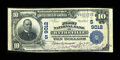 National Bank Notes:Virginia, Wytheville, VA - $10 1902 Plain Back Fr. 626 The First NB Ch. #(S)9012. ...
