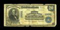 National Bank Notes:Virginia, Rural Retreat, VA - $20 1902 Plain Back Fr. 654 The First NB Ch. #10061. ...
