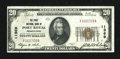 National Bank Notes:Pennsylvania, Port Royal, PA - $20 1929 Ty. 1 The First NB Ch. # 11369. ...