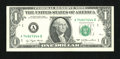 Error Notes:Blank Reverse (<100%), Fr. 1909-A $1 1977 Federal Reserve Note. Choice CrispUncirculated.. ...