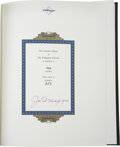 """Autographs:Others, 1989 Joe DiMaggio Signed """"The DiMaggio Albums"""" Two Volume Set. Afitting tribute to Joe D is afforded to some lucky bidder ..."""