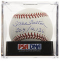 Autographs:Baseballs, Steve Carlton (329/4,136) Single Signed Baseball, PSA Mint+ 9.5.Lefty's career totals in strikeouts and wins make up his hi...