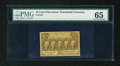 Fractional Currency:First Issue, Fr. 1281 25c First Issue PMG Gem Uncirculated 65....