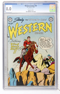 Western Comics #40 (DC, 1953) CGC VF 8.0 Off-white pages