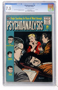 Golden Age (1938-1955):Horror, Psychoanalysis #4 (EC, 1955) CGC VF- 7.5 Cream to off-whitepages....