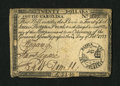 Colonial Notes:South Carolina, South Carolina February 14, 1777 $20 Very Fine-Extremely Fine....