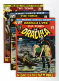 Bronze Age (1970-1979):Horror, Tomb of Dracula #1-3 Group (Marvel, 1971) Condition: Average FN....(Total: 3 Comic Books)