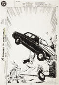 Original Comic Art:Covers, Jackson Guice Action Comics #685 Supergirl Cover OriginalArt (DC, 1993)....