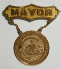 Expositions and Fairs, 1886 Founding of Providence Celebration Mayoral Gold Medal....