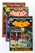 Bronze Age (1970-1979):Horror, Tomb of Dracula #2 and 4-8 Group (Marvel, 1971-72) Condition:Average FN.... (Total: 7 Comic Books)