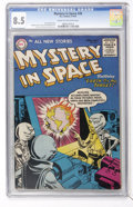 Golden Age (1938-1955):Science Fiction, Mystery in Space #26 (DC, 1955) CGC VF+ 8.5 Cream to off-whitepages....