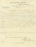 Military & Patriotic:Indian Wars, Carbines For Fort Ridgely, Minnesota Expeditions Scouts 1864 - ...