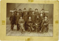 Photography:Cabinet Photos, Group Photograph of Five Sheriffs and Four Firemen ca 1880s-1890s - ...