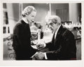 Movie/TV Memorabilia:Autographs and Signed Items, Boris Karloff Related Anna Lee Signed Photo from The Man Who Changed His Mind with Letter....