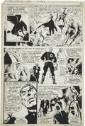 Original Comic Art:Miscellaneous, All-Star Squadron #1 Photostat, page 13 Production Piece (DC,1981)....