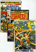Bronze Age (1970-1979):Miscellaneous, Miscellaneous Bronze Age Reprints Short Box Group (VariousPublishers, 1970s)....