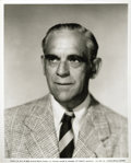 Movie/TV Memorabilia:Photos, Boris Karloff Original Universal Portrait, from His PersonalCollection....