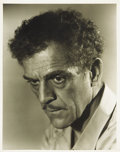 Movie/TV Memorabilia:Photos, Boris Karloff Photo from Devil's Island by Schuyler Crail....