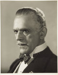 Movie/TV Memorabilia:Photos, Boris Karloff Black Friday Photo. ...