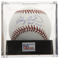 "Autographs:Baseballs, Gary Carter ""HOF 2003"" Single Signed Baseball, PSA Gem Mint 10. ..."