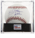"Autographs:Baseballs, Jim Palmer ""HOF 90"" Single Signed Baseball, PSA Mint+ 9.5. ..."