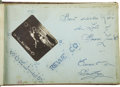 Movie/TV Memorabilia:Autographs and Signed Items, Lynne Golding and Others Signed Autograph Album, circa Early 1950s. ...