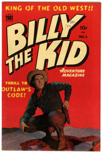 Billy the Kid Adventure Magazine #2 New Hampshire pedigree (Toby Publishing, 1950) Condition: VF