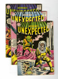 Silver Age (1956-1969):Horror, Tales of the Unexpected Group (DC, 1958-64) Condition: AverageVG.... (Total: 7 Comic Books)