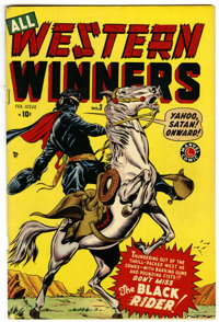 All Western Winners #3 Mile High pedigree (Marvel, 1949) Condition: VG/FN