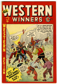 All Western Winners #4 Mile High pedigree (Marvel, 1949) Condition: VF