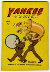 Yankee Comics #4 (Chesler, 1942) Condition: FN
