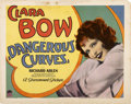 """Movie Posters:Comedy, Dangerous Curves (Paramount, 1929). Title Lobby Card (11"""" X 14"""")...."""