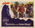 "Movie Posters:Drama, The Treasure of the Sierra Madre (Warner Brothers, 1948).Autographed Lobby Card (11"" X 14"")...."