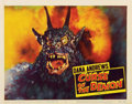 "Movie Posters:Horror, Curse of the Demon (Columbia, 1957). Lobby Card (11"" X 14"")...."