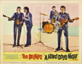 "Movie Posters:Rock and Roll, A Hard Day's Night (United Artists, 1964). Lobby Card (11"" X 14"")...."
