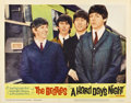 "Movie Posters:Rock and Roll, A Hard Day's Night (United Artists, 1964). Lobby Cards (3) (11"" X14"").... (Total: 3 Items)"